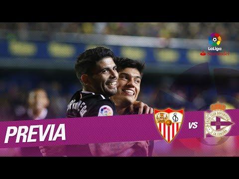 Previa Sevilla FC vs RC Deportivo