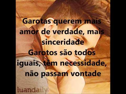 Luan Santana - Garotas não merecem chorar (letra)