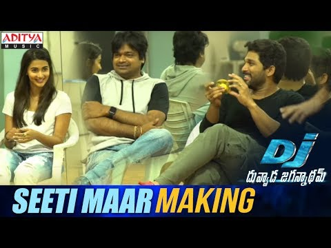 Seeti-Maar-Song-Making----Duvvada-Jagannadham