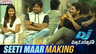Seeti-Maar-Song-Making----Duvvada-Jagannadham
