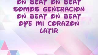 On Beat- Violetta (Lyrics)