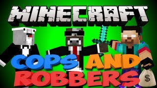 Minecraft THE NEW COPS AND ROBBERS 2.0 Minigame