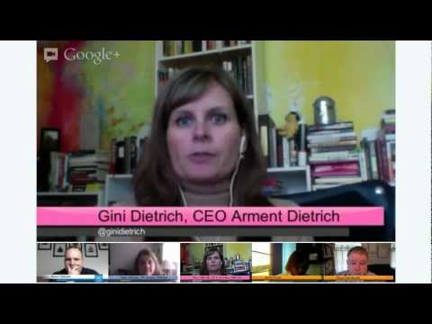 The Friday Hangout with Gini Dietrich