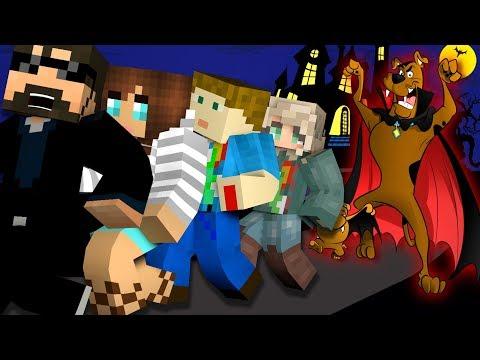 Minecraft SCOOBYDOO MURDER  MODDED MINIGAME