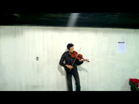 Bach Cello Suite No.1 Prelude with  Violin (Kuni)