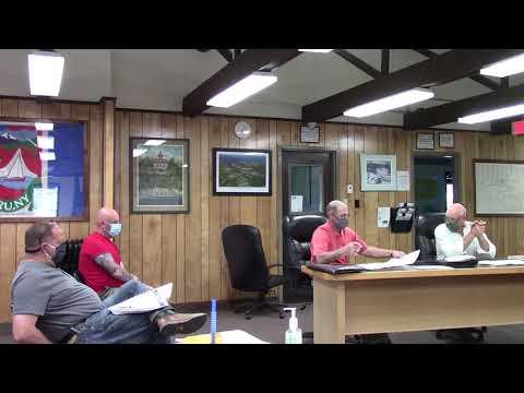 Peru Town Board Meeting  6-8-20