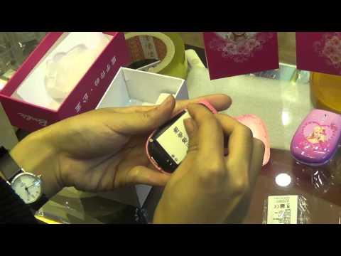 Dien thoai tre em Barbie, điện thoại trẻ em búp bê Barbie thời trang[phukien24h.net]