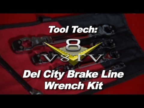 Tool Tech:  Del City Ratcheting Brake Line Set Makes Repairs Easier