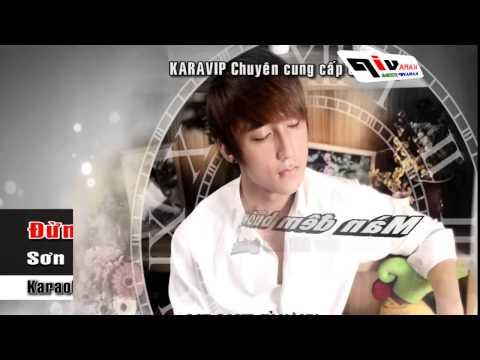 VietVideos Vn   Karaoke Đừng Về Trễ   Sơn Tùng M TP Beat Gốc