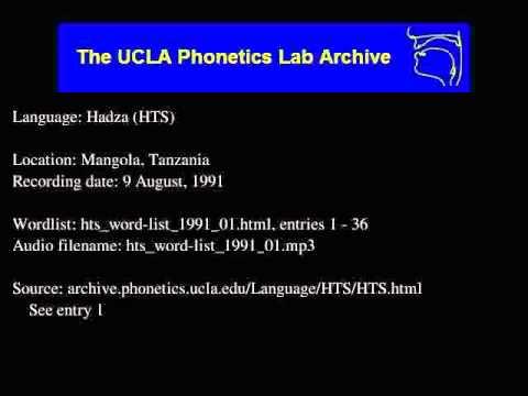 Hadza audio: hts_word-list_1991_01