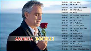 Andrea Bocelli Greatest Hits 2018   Best Andrea Bocelli Songs of All Time