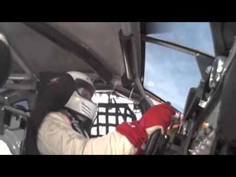 260 MPH Crash -- In Car Footage