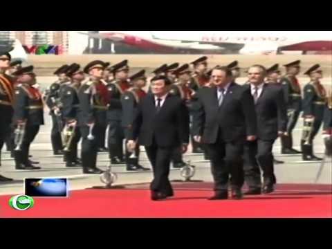 Chủ tịch nước Trương Tấn Sang thăm chính thức Liên Bang Nga