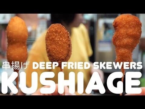 Kushiage: Magic Deep Fried Sticks