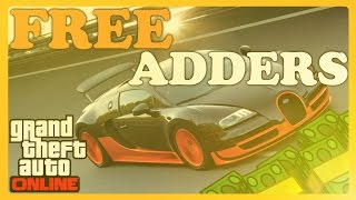 GTA 5 Online ''How To Get FREE ADDER Glitch'' After