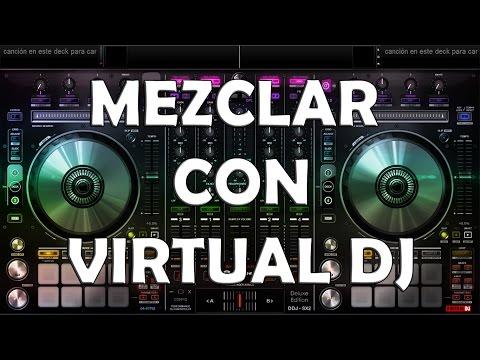 Como mezclar música electrónica 2013 en Virtual DJ - Principiantes (Bien explicado)