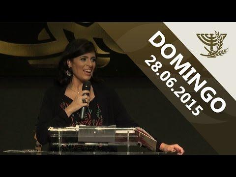 Pra. Fernanda Brum - Culto de Domingo - 28 06