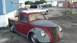 RAT ROD CUSTOM VW BEETLE PICK UP TRUCK