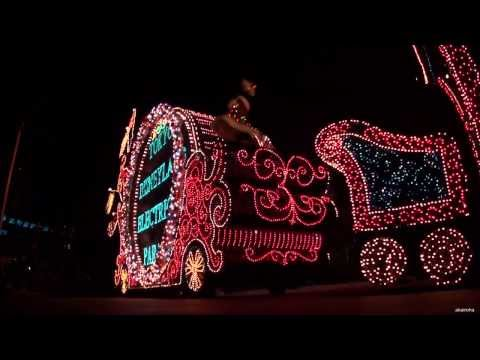[HD] Tokyo Disneyland - Electrical Parade Dream Lights (Xmas) 2013