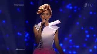 Алeна Мун - O Mie (Eurovision 2013, Final, Moldova) (Евровидение 2013, Финал, Молдавия) (HDTVRip)