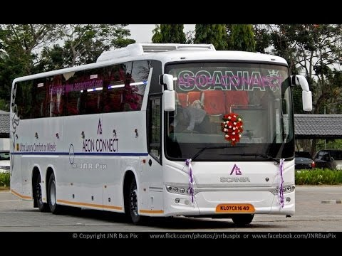 SCANIA Aeon Connect HD Metrolink 14.5M Multi Axle Bus//Kerala/INDIA