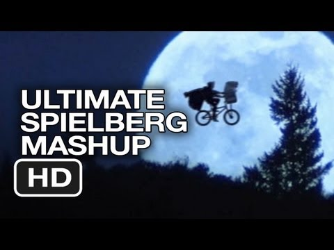 Steven Spielberg Ultimate Mashup - E.T. The Extra-Terrestrial, Jurassic Park MASHUP HD -TUm1c4BdMrM