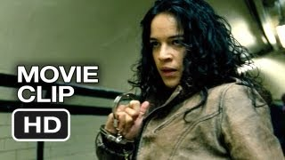 Fast & Furious 6 Movie Clip Subway Fight (2013) Vin