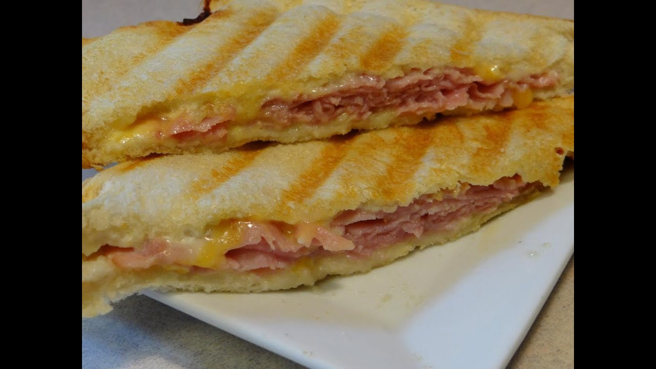 Ham and Cheese Panini - CookingAndCrafting's Way (Tramezzino ...