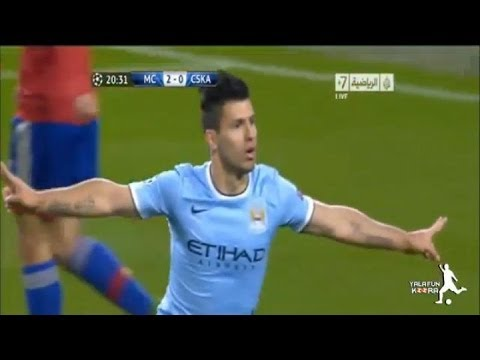 Manchester City vs CSKA Moscow 5-2 All goals (UCL)