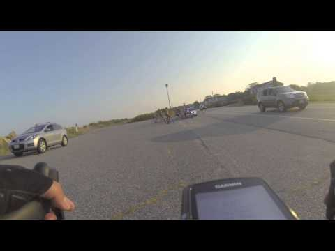 Bicyclists intercepted by police