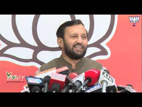 NDA will surpass 300 mark : Shri Prakash Javadekar :: 13 May, 2014