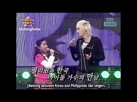 Charice 1st Appearance on SK with Super Junior 2/2 [Hae-Ann]