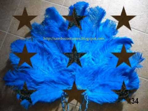 THE FIRST EVER ''HOW TO'' MAKE A CARNIVAL HEADDRESS SAMBA COSTUME