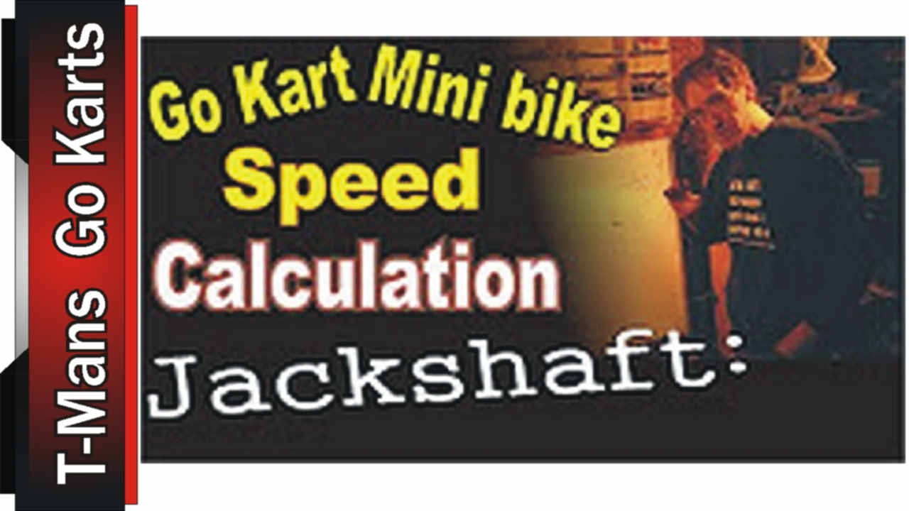 how to find speed of a go kart