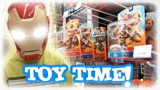 "SHOPPING at TOYS ""R"" US! - Angry Birds, Skylanders, LEGO!"