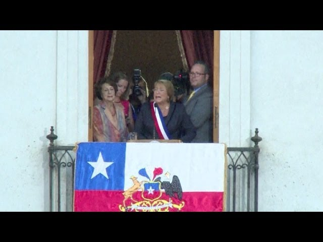 Bachelet assume presidência do Chile