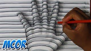Dibujar una mano en 3D