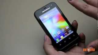 Smartphone Motorola Defy Mini XT320 Resenha Brasil