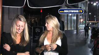 chanel-: Hayley Hasselhoff Talks To Cameras At Katsuya