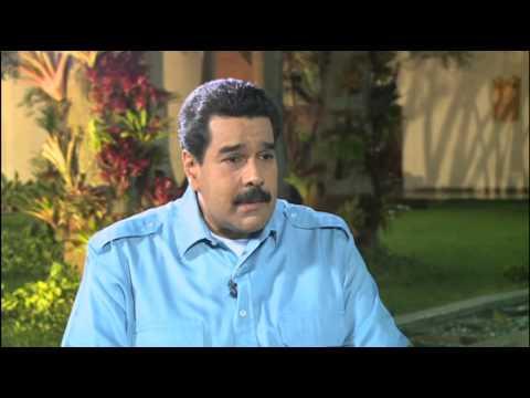 LA ENTREVISTA POR ADELA 20 MARZO 2014 NICOLAS MADURO PRESIDENTE DE VENEZUELA