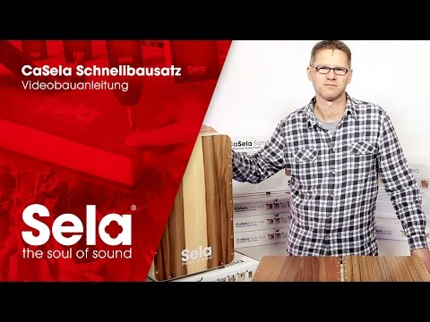 CaSela Professional Snare Cajon: Assembly Instructions - Videobauanleitung - Sela Instruments