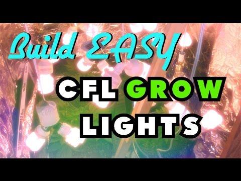 Grow DIY- Build the EASIEST CFL Grow Lamp