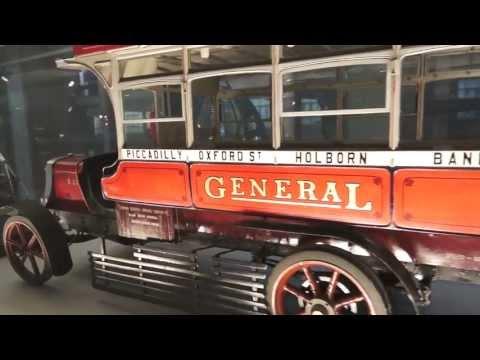 Antigo ônibus inglês, miniatura