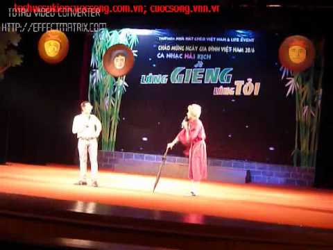 Hai: Bo vo day con re (Tran Thanh - Anh Duc) P2 - Lang gieng lang toi.flv