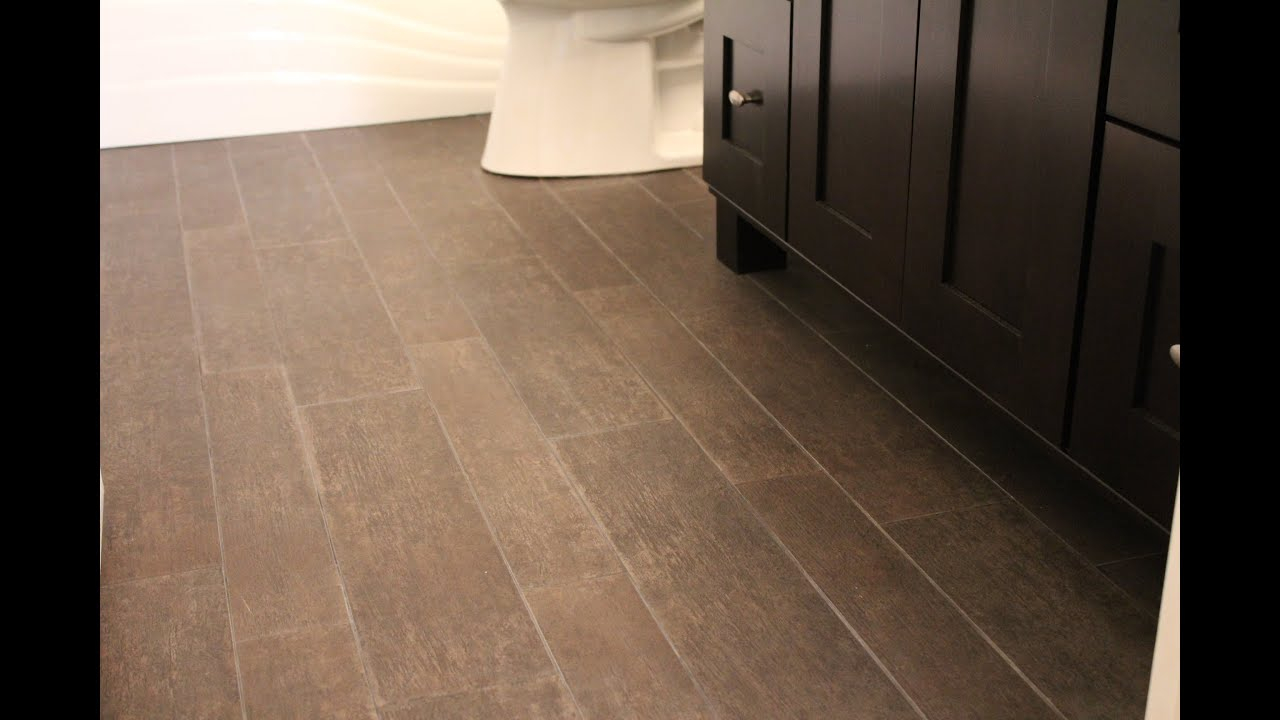 installing tile that looks like hardwood youtube. Black Bedroom Furniture Sets. Home Design Ideas