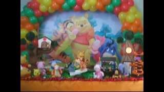 Decoração Infantil Ursinho Pooh