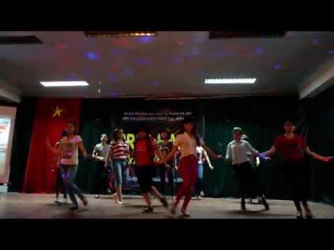 Dân vũ rửa tay - Nhảy Nobody sexy girls - K60 giáo dục mầm non