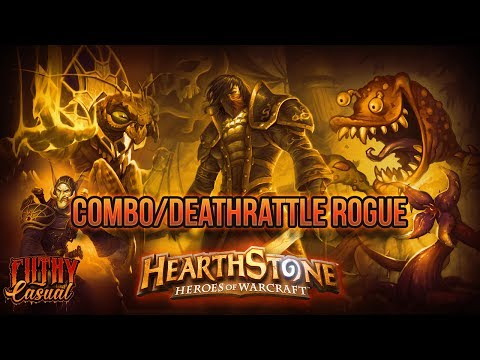 Hearthstone Casual Decks - Combo/Deathrattle Rogue