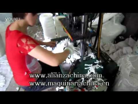 Maquina para fabricar escoba de barrer