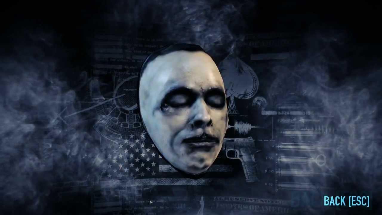 Payday 2 Masks
